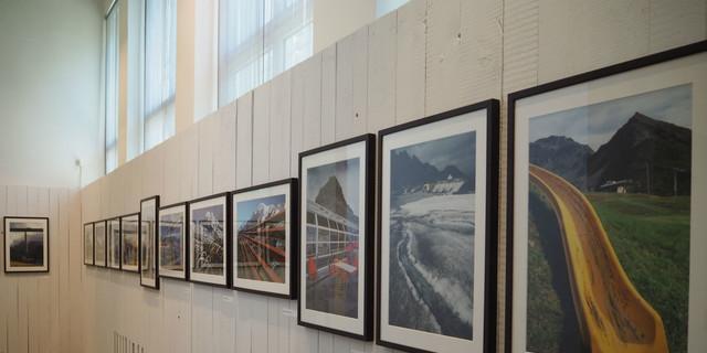 Blick in die Ausstellung Standpunkt 7