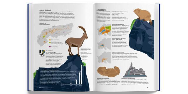 Das Alpenbuch - aus dem Kapitel Flora und Fauna