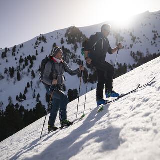 Ein Wintersportparadies - die Nockberge. Foto: Servus TV/ Stefan Voitl
