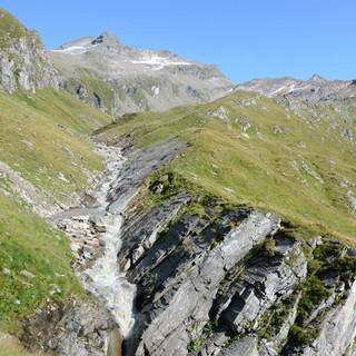 Wurfbachgraben - Die Überquerung des Wurfbachgrabens ist die Schlüsselstelle der zweiten Etappe.