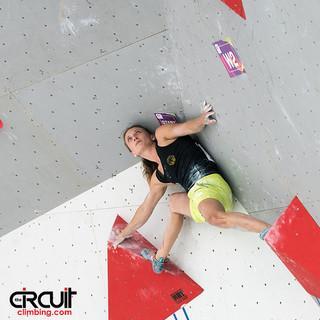 Monika Retschy in der Qualifikation