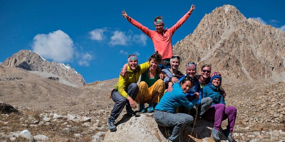 Die Abschlussexpedition des Expedkaders der Frauen 2016 nach Tadschikistan. Foto: DAV / Dörte Pietron