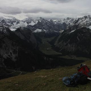 Auch im Karwendel (wie hier am Satteljoch) wird es am Freitag wieder Neuschnee geben. Foto: M. Pröttel