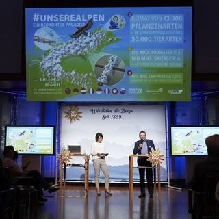DAV-Vizepräsident Rudi Erlacher fordert nachhaltigen Alpenschutz. Foto: DAV/Henning Schacht