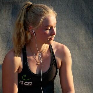 Lucia Dörffel hat sich für Combined qualifiziert. Foto: DAV/Marco Kost