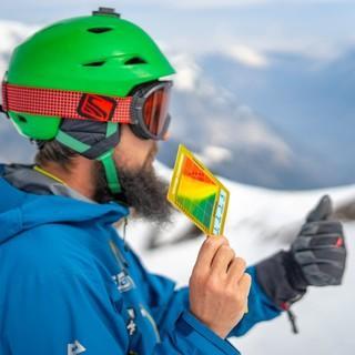 Die Snow-Card als ein Mittel bei der Risikobeurteilung. Foto: JDAV / Silvan Metz
