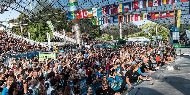 Rund 5000 Zuschauer feuerten die Athletinnen und Athleten letztes Jahr an. Foto: DAV/Nils Nöll