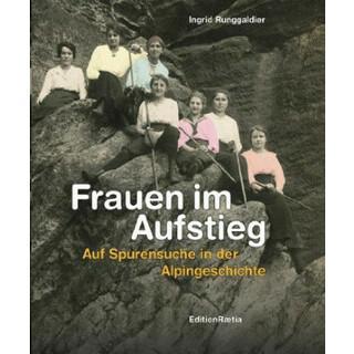 Buchcover Frau Bergsteigen: Frauen im Aufstieg