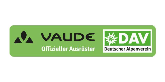 Logo DAV VAUDE Balken