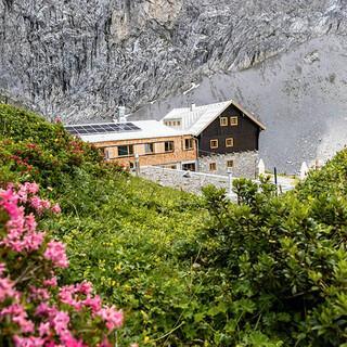 Die Anhalter Hütte hat seit 1. August wieder geöffnet. Foto: Anhalter Hütte