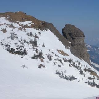 Aufstieg zum Hohen Freschen - Weite Hänge sind häufig im Bregenzerwald – auch beim Aufstieg zum Hohen Freschen.