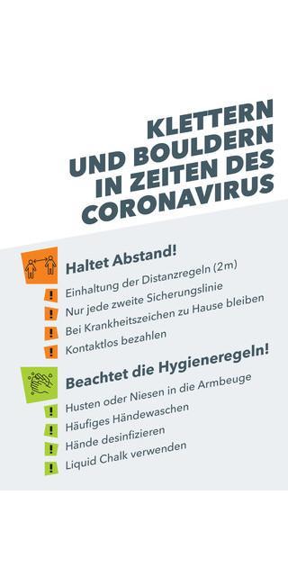 Klettern und Bouldern in Zeiten des Coronavirus