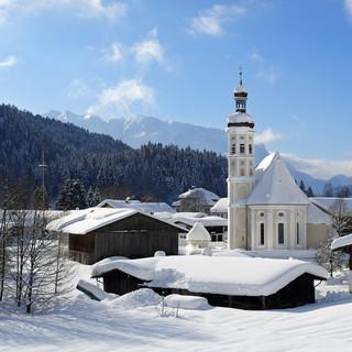 Bergsteigerdorf Sachrang. Foto: Josef Reiter