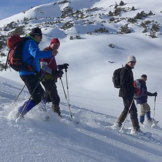 Impressionen: Schneeschuhtouren im Tannheimer Tal