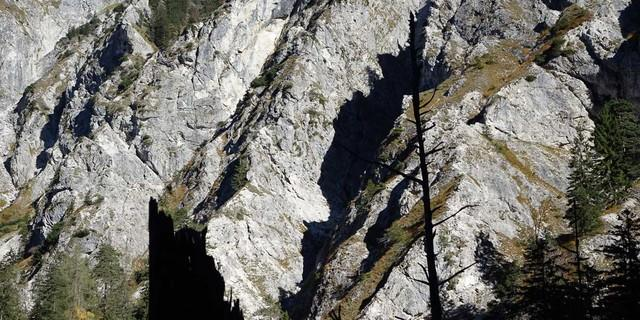 UNESCO-Weltnaturerbe seit Juli 2017: Der Lechnergraben vermittelt den spektakulären Zugang ins Wildnisgebiet Dürrenstein, Foto:  Axel Klemmer