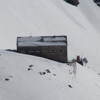Die Neue Prager Hütte auch ein Ettapenziel der Venediger Runde, Foto: Wilfried Studer