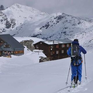 Im Sommer Trubel, im Winter romantisch: die Cabane de Prafleuri, Foto: Stefan Herbke