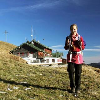 Auch die Südseite des Braunecks dürfte am Wochenende wieder schneefrei sein. Foto: DAV/ Pröttel