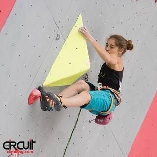 Johanna Holfeld im Lead-Wettkampf