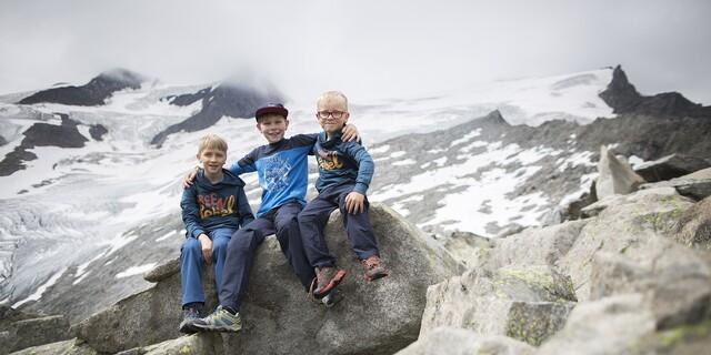 Unter Anleitung erfahrener Bergführer erkunden die Kinder die Bergwelt. Foto: DAV/Jens Klatt