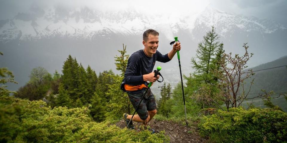 Lachende Gesichter trotz Regen - wer nicht kotzt läuft nicht am Limit? Foto: DAV / Silvan Metz