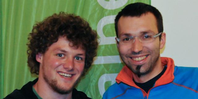 Jonas Freihart und Benjamin Wilke