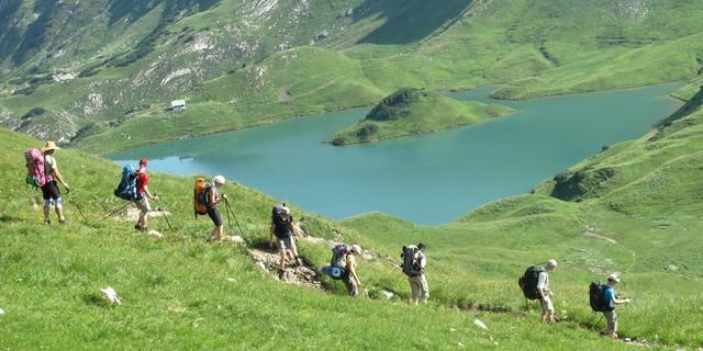 Bergtour; Foto: Jubiarchiv