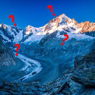 Ein Berg und seine Geländeformen. Foto: DAV/Silvan Metz