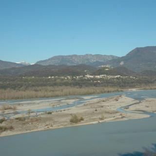 Tagliamento Gebirgsfluss Wildbach