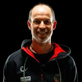 Bundestrainer Maxi Klaus. Foto: DAV/Marco Kost