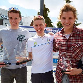 Stefan Knopf holt sich Platz 3 im Gesamt Weltcup der Junioren © DAV/Seebacher