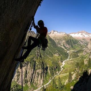 Auch technisches Klettern stand auf dem Programm. Foto: DAV / Silvan Metz