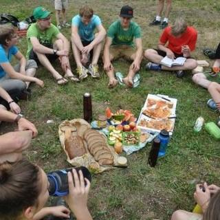 Mit der Jugendgruppe bewusst nachhaltig unterwegs. Foto: Lena Behrendes