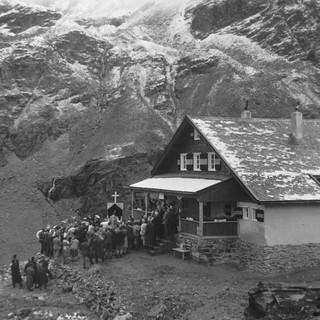 1932: Hüttenweihe der Potsdamer Hütte, Foto: DAV Sektion Dinkelsbühl