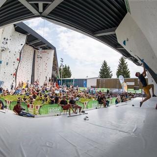 Die Deutsche Meisterschaft Olympic Combined findet nicht statt. Ob die DMs im Lead, Speed und Bouldern ausgetragen werden können, ist noch ungewiss. Foto: DAV/Marco Kost