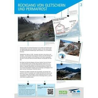 """Poster """"Gletscher und Permafrost"""""""