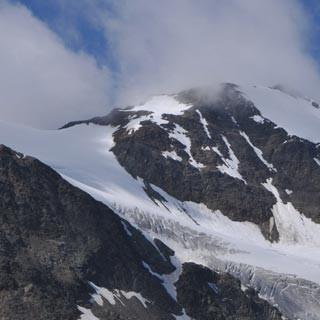 Gletschersee - Abschreckung gefällig? Der Rückzug des Gurgler Ferners hat kühle Gletscherseen entstehen lassen.