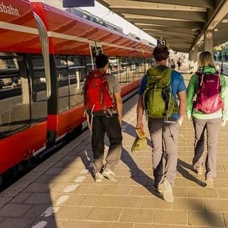 Anreise Bahn