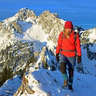Auch in den Ammergauer Alpen scheint  am Wochenende die Sonne. Foto: DAV/Michael Pröttel