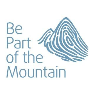 "Logo der Kampagne ""Be part of the Mountain"""