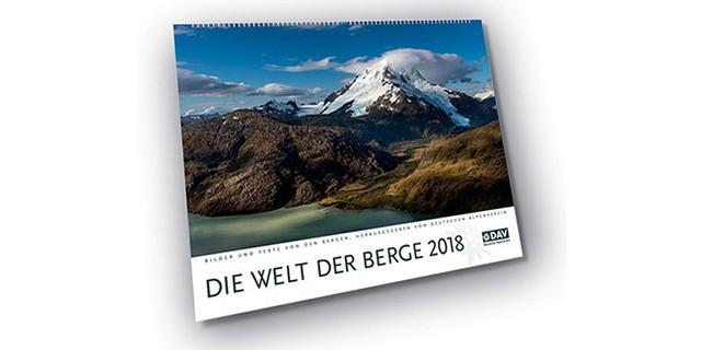 """Kalender """"Die Welt der Berge 2018"""""""