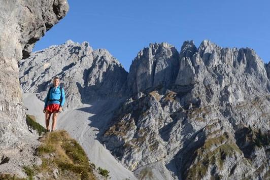 Klettersteig Wilder Kaiser Ellmauer Halt : Klettersteige