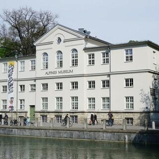 Alpines Museum auf der Praterinsel. Aufnahme: Carmen Fischer/DAV