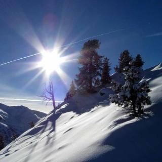 Touren mit hoch gelegenen Ausgangspunkt wie von Hochfügen versprechen in dne kommenden Tagen den besten Schnee. Foto: Pröttel