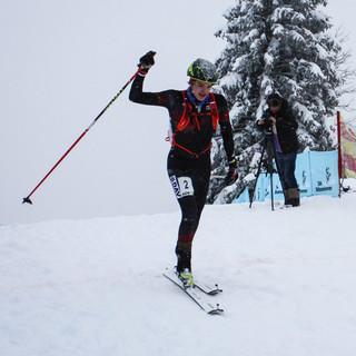 Stefan Knopf auf dem Weg zum Ziel. Foto: DAV/Andreas Hartmann