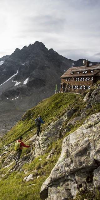 Saarbrücker Hütte, Foto: Andreas Haller