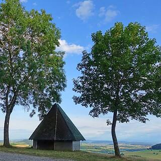 Schöne Ausblicke von der Spitzhütte bei Tengen im Hegau (Konstanz), Foto: Klaus Gräbe