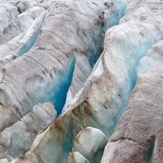 Gletschereis, Foto: DAV/Marco Kost