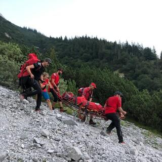 Rettungseinsatz. Foto: Bergrettung Innsbruck
