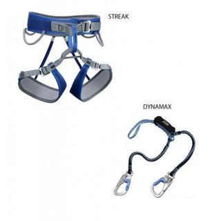 Das Klettersteigset Dynamax Streak - einige dieser Komplettsets beinhalteten ein vom Rückruf betroffenes Klettersteigset.   Quelle: Rock Empire